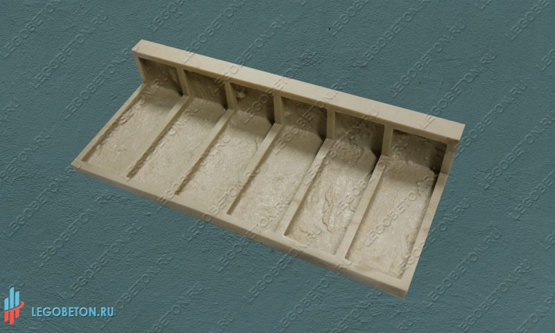 форма для декоративной плитки литого угла Петр-I(2)