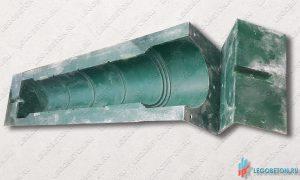 форма из стеклопластика для изготовления балясины №8 балюстрады купить в москве