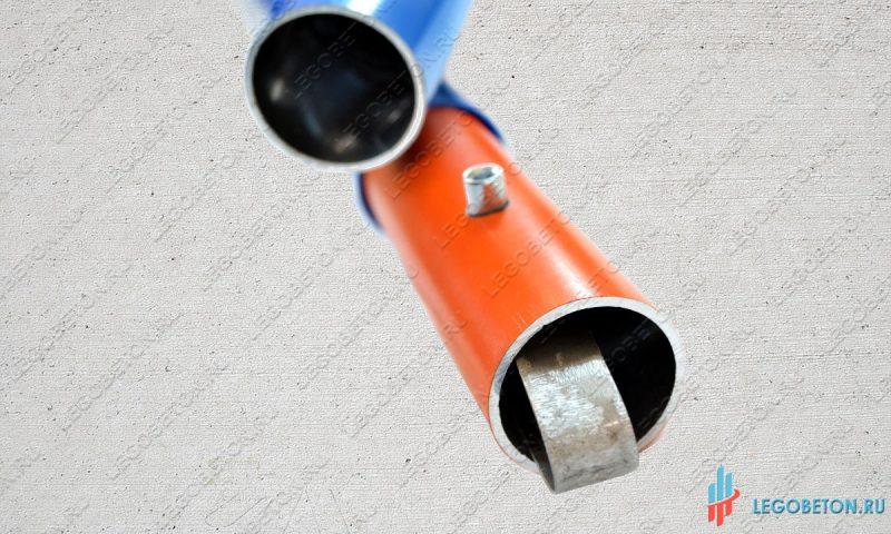 Универсальный адаптер с клипсами для ручки затирки печатного бетона
