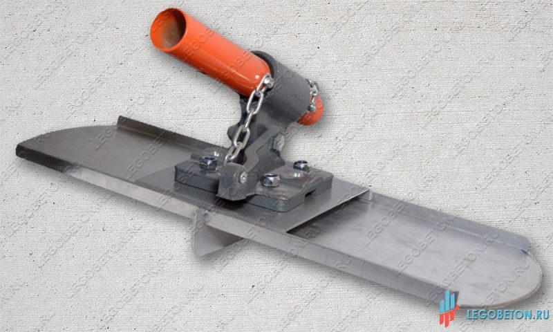 Нарезчик швов для бетона с гладилкой в комплекте с поворотным механизмом