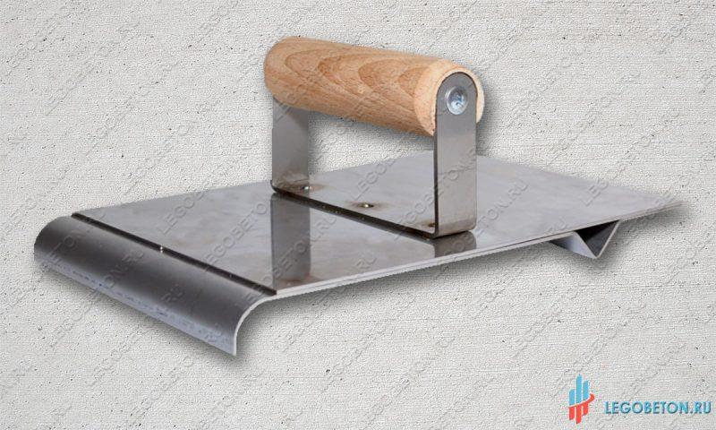 Ручной нарезчик декоративных швов с кромкогибом для печатного бетона