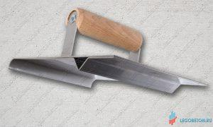 Ручной нарезчик декоративных швов с кромкогибом для штампованного бетона купить в москве