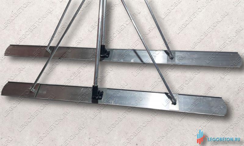 большие стартовые гладилки для бетона в комплекте с реверсивным механизмом и ручкой
