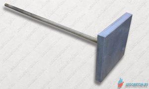 полимербетонная трамбовка для печатного бетона 10 кг. Купить в Москве