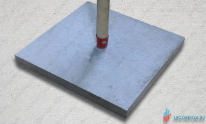 фибробетонна трамбовка для печатного бетона масса 10 кг. Купить в москве