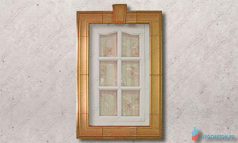 пластиковая форма для изготовления наличников окна-1-2