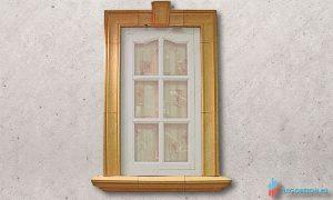 форма для изготовления наличников окна из бетона купить в Москве