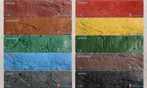 сухие краски для столешниц из бетона купить в москве