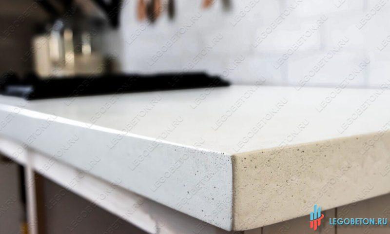 Купить белый бетон для столешницы где можно купить пластификаторы для бетона