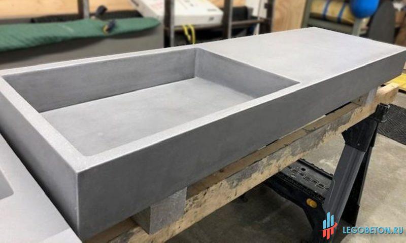 Столешница бетонная состав смеси алмазное сверление и резка бетона в москве