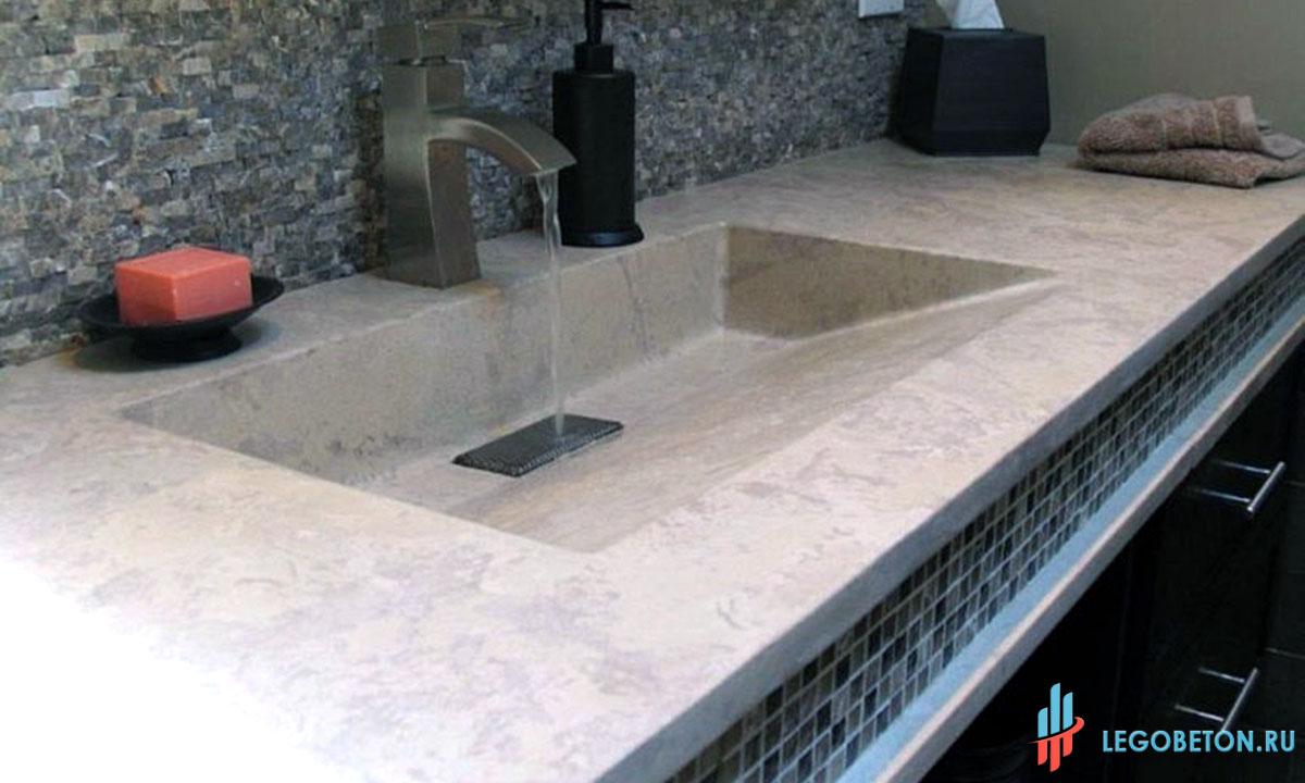 Состав смеси бетонной столешницы 1с бетон