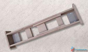 как сделать универсальную опалубку для пластиковой формы балясин из бетона