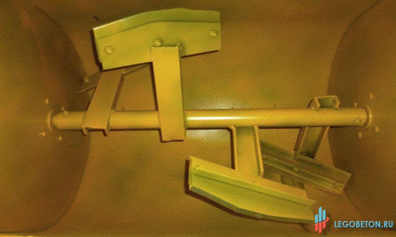 лопатки принудительного растворосмесителя с горизонтальным валом РСПГ-200