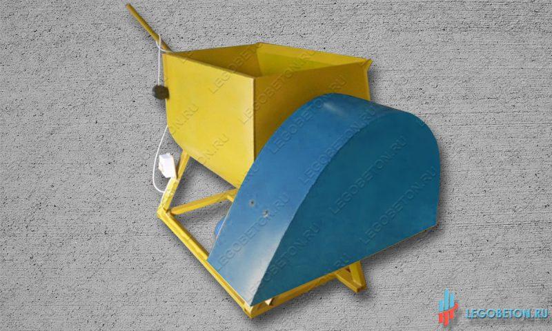 растворосмеситель принудительный горизонтальный РСПГ-200