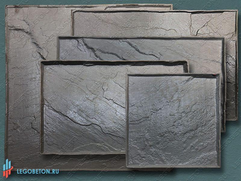 штамп для бетона — Колотый сланец -1-5 ассортимент