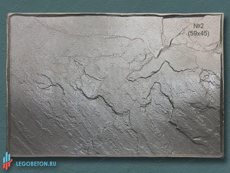 штамп для бетона Колотый сланец 59х45 см f3390c-1