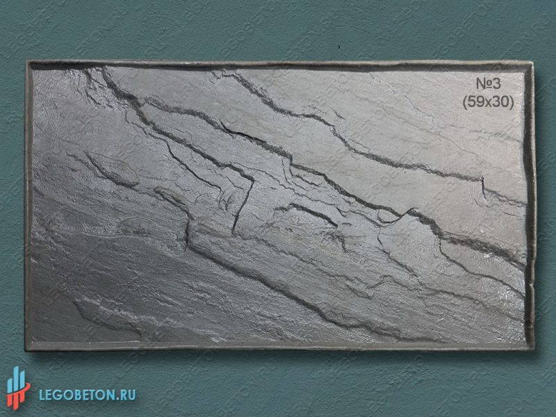 штамп для бетона Колотый сланец 59х30 см f3390e-1