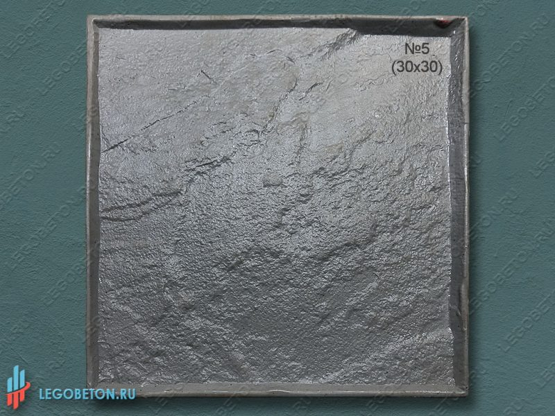 штамп для бетона Колотый сланец 30х30 см f3390m-1
