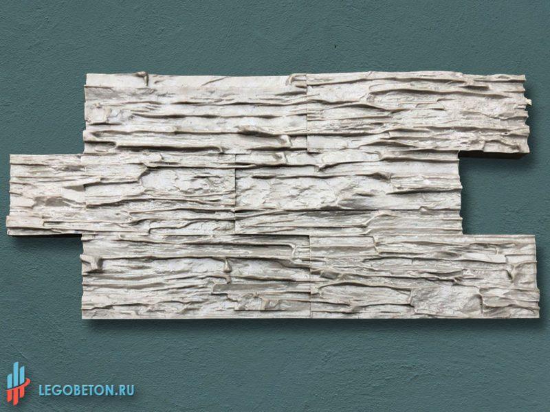 штамп для декоративной штукатурки — сланец Алтайский — f3110-1
