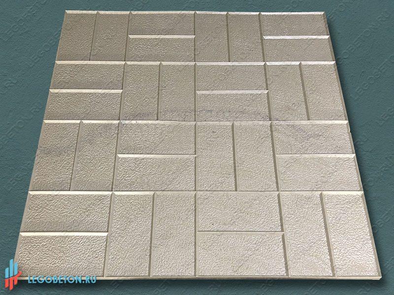 штамп для печатного бетона — 8 кирпичей-1