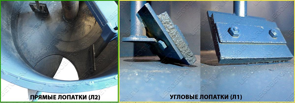 варианты установки лопаток принудительного бетоносмесителя выбор при покупке