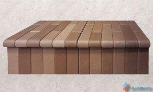купить форму для изготовления клинкерной ступени из бетона в Москве