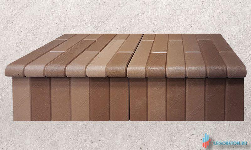 форма для изготовления клинкерной ступени из бетона-2