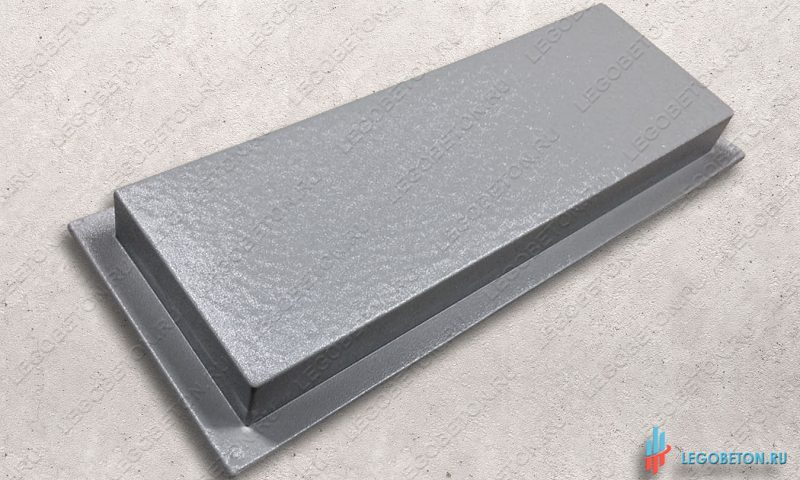 пластиковая форма доска 4 шагрень 60х20х6-1