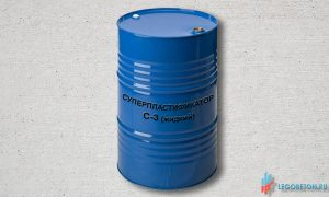 суперпластификатор С-3 жидкий (32%) в бочках купить в Москве