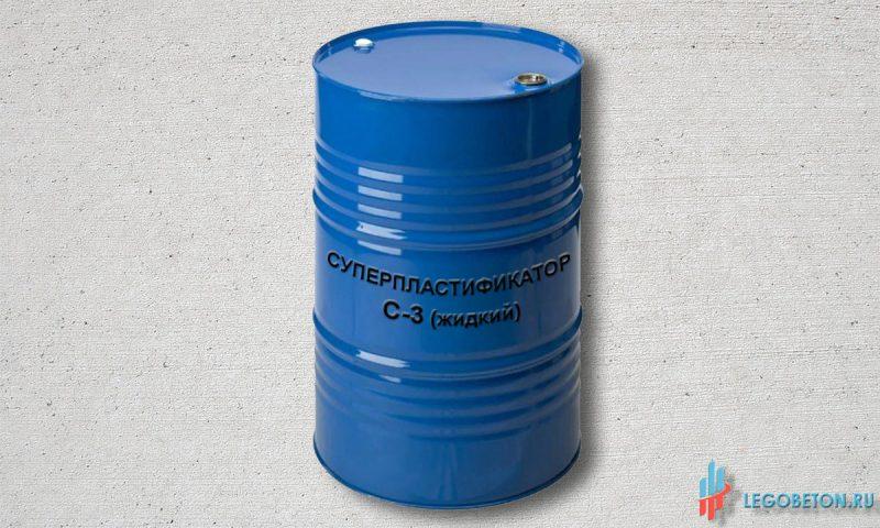 суперпластификатор С-3 жидкий (32%) в бочках-1