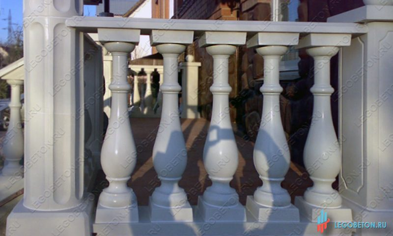 форма для бетонной колонны балюстрады
