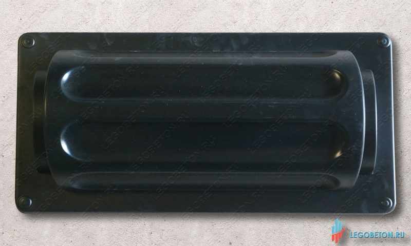 пластиковая форма для изготовления круглой колонны из бетона