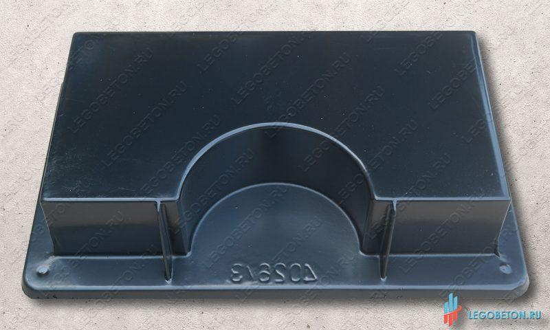 форма для отливки квадратной пустотелой опоры (база, капитель) колонны или полуколонны
