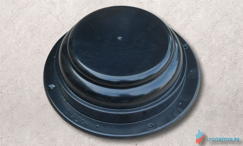 форма для изготовления круглого элемента базы или капители колонны