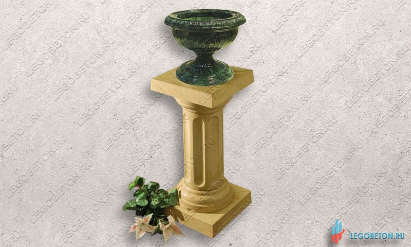 форма для колонны с базой и капителью-1
