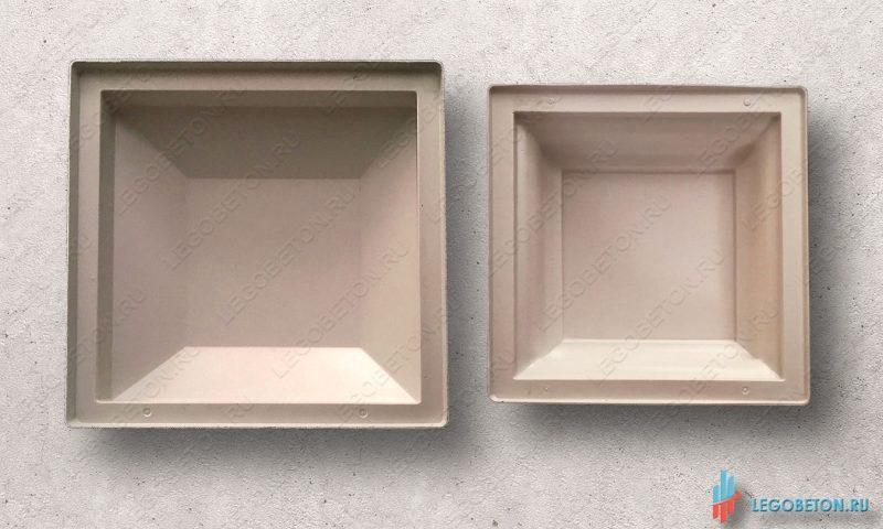 пластиковая форма для крышки столба балюстрады 370×370