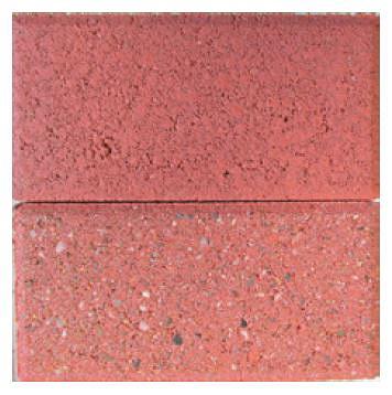 изменение цвета при эрозии на плитке окрашенной пигментами Bayferrox