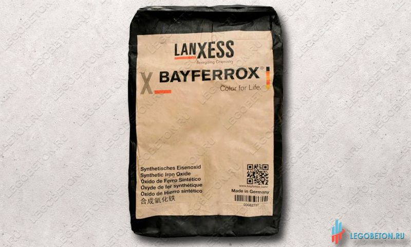 неорганический черный пигмент Bayferrox 330 в мешках