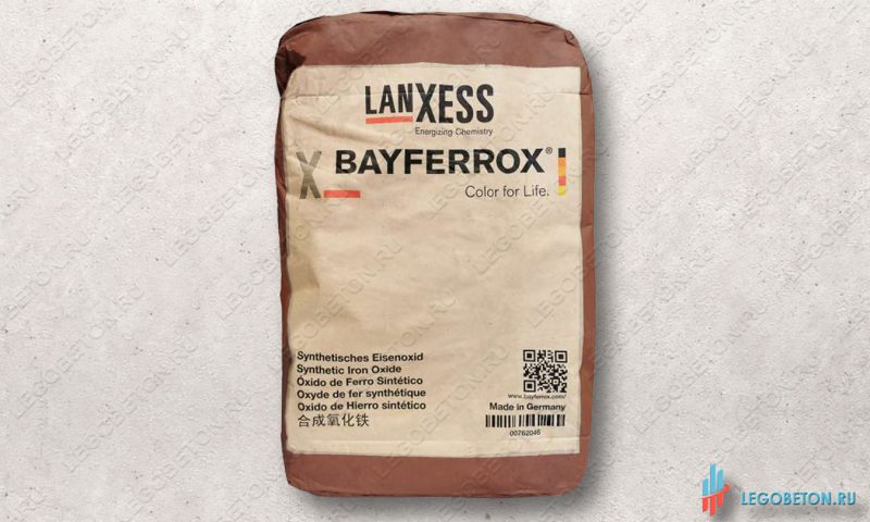 неорганический коричневый пигмент Bayferrox 686 в мешках