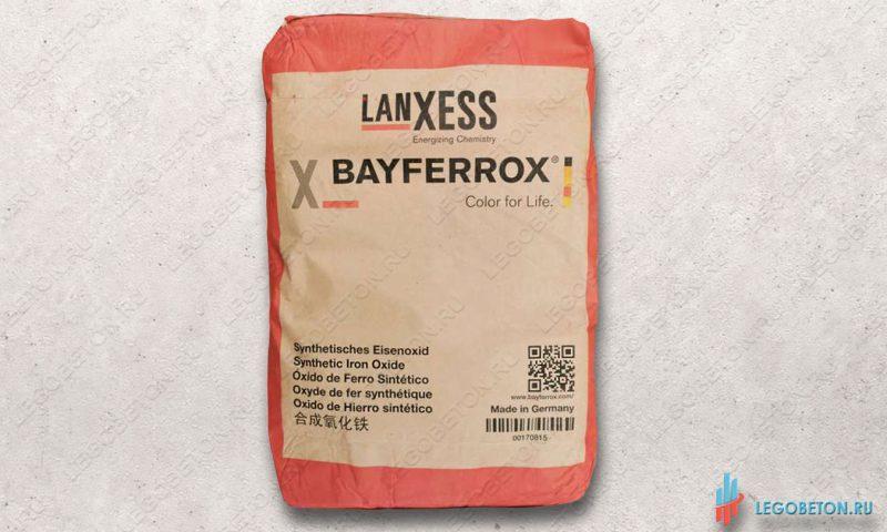 неорганический красный пигмент Bayferrox 130 в мешках