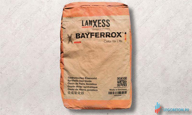 неорганический оранжевый пигмент Bayferrox 960 в мешках