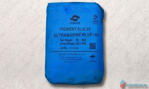 купить в Москве неорганический синий пигмент для бетона и гипса Ultramarine Blue 463