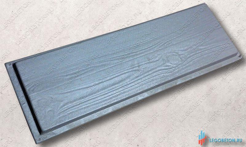 пластиковая форма доска-4 размер 100х30х3-2