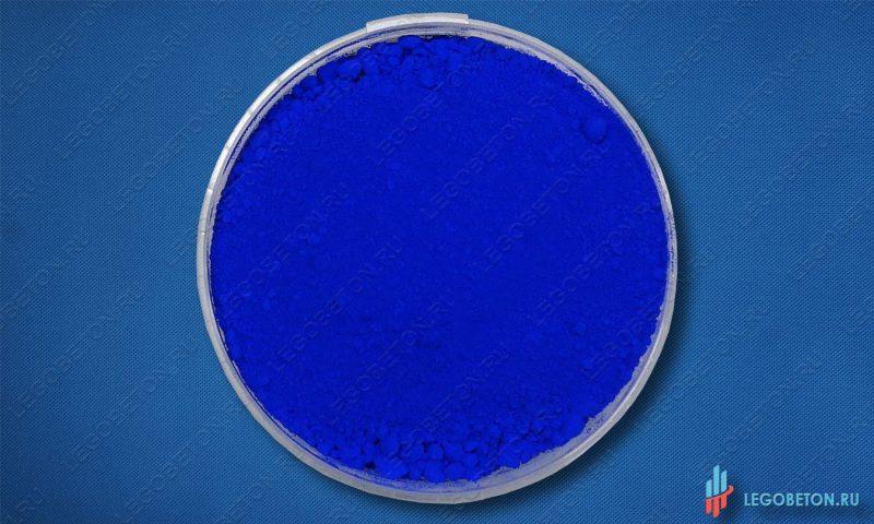 синий неорганический пигмент Ультрамарин 463 в мелкой фасовке