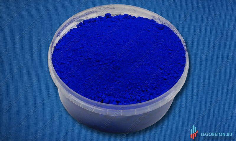 синий неорганический пигмент Ультрамарин 463 в мелкой таре