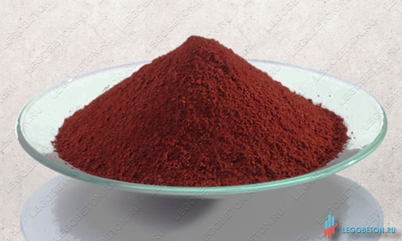 железоокисный красный пигмент Bayferrox 130