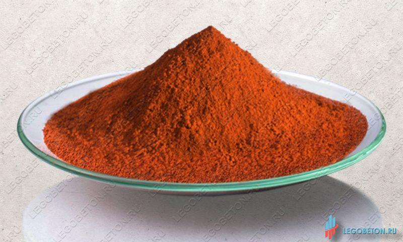 железоокисный оранжевый пигмент Bayferrox 960