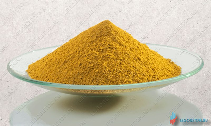 железоокисный желтый пигмент Bayferrox 920
