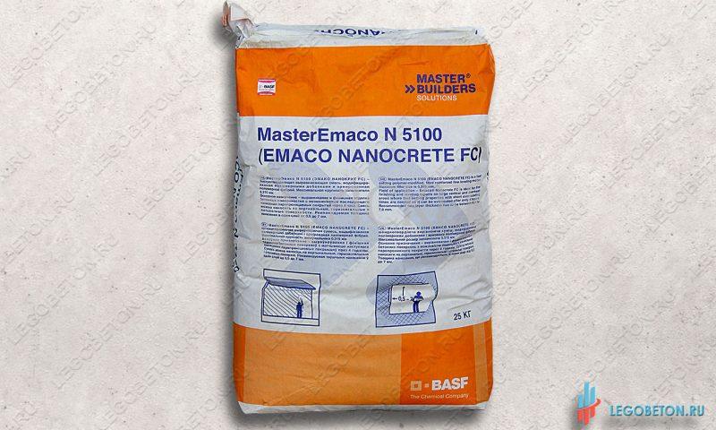 Быстротвердеющая смесь MasterEmaco N 5100 FC