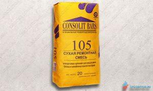 CONSOLIT BARS 105 - высокоадгезионная праймер-грунтовка (сухая смесь) купить в Москве